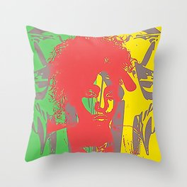 ZiRasta Throw Pillow