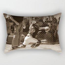 Hold Him Off Rectangular Pillow
