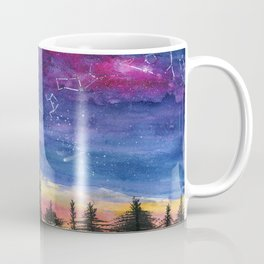 The Zodiac over Sequoia Coffee Mug