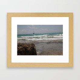 Mare di Maiorca - Matteomike Framed Art Print