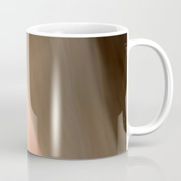 The Abstract Planet. Orange to Black Shades. Coffee Mug