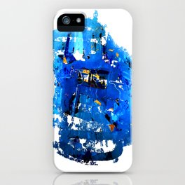 Blue Emotion iPhone Case