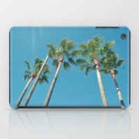 palm tree iPad Cases featuring Palm tree by Laura James Cook