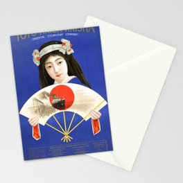Japanese Vintage Poster Stationery Cards
