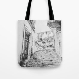 Stairs to Malta Tote Bag
