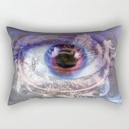 Looking through the lens  Rectangular Pillow