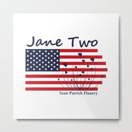 The Story Of Jane Two Metal Print