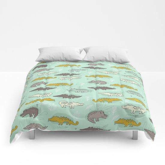 Cute Crocodiles Comforters