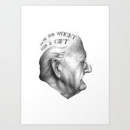 MY VIDA HA SIDO EXTRAORDINARIA SERIES 3# Art Print