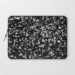 Black and white Galaxy Laptop Sleeve