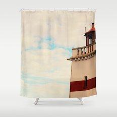Find my light Shower Curtain