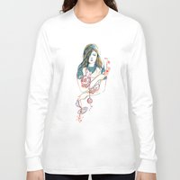alice Long Sleeve T-shirts featuring Alice by Picomodi