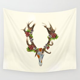 The Red Stag Wall Tapestry
