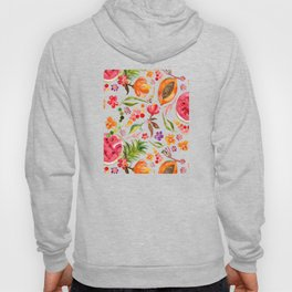 Tropical Fruit Festival in Yellow | Frutas Tropicales en Amarillo Hoody