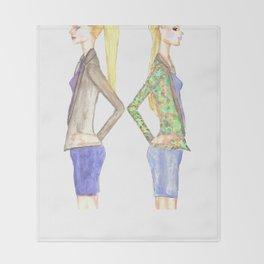 Duality Throw Blanket