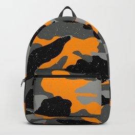 Orange Camo Backpack