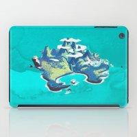 peter pan iPad Cases featuring Disney's Peter Pan Neverland by foreverwars