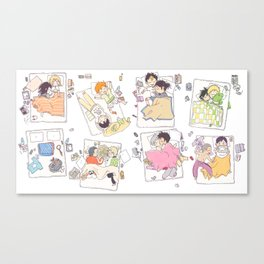 All the zzz Canvas Print