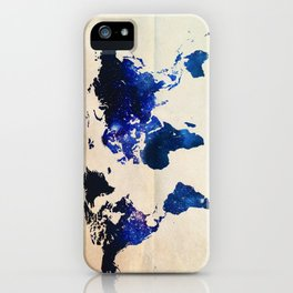 Big World Out There iPhone Case