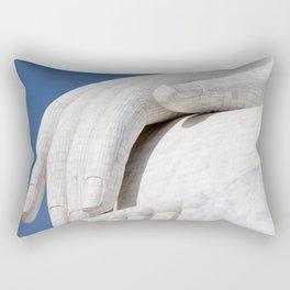 Hand of Buddha Rectangular Pillow