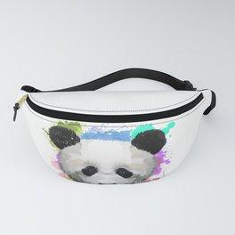 Colorful Panda Fanny Pack
