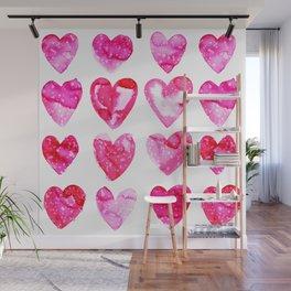 Heart Speckle Wall Mural