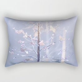 BUTTERFLIES AND BEADS Rectangular Pillow