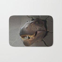 Dinosaur crush Bath Mat
