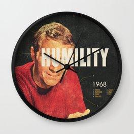 Humility 1968 Wall Clock