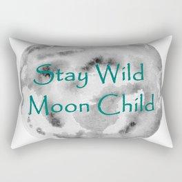 Stay Wild Moon Child Rectangular Pillow