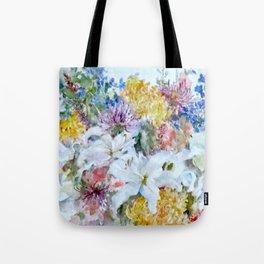 Bountiful floral Tote Bag