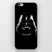 vader iPhone & iPod Skins featuring Vader by Purple Cactus