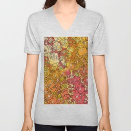 Technology Psychedelic Warm Unisex V-Neck