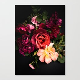 Roses Deep and Vibrant I Canvas Print