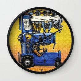 "Detroit: The Present - ""Economy"" Wall Clock"