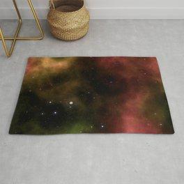 Galaxy Nebula Starfield Backgroun Rug