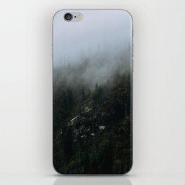 Fog Forest - Landscape Photography iPhone Skin