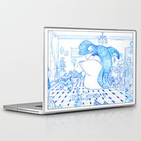 killer whale Laptop & iPad Skins featuring Killer Whale by Tayfun Sezer