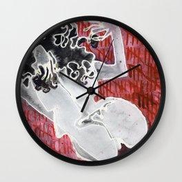 QUEEN OF SLUTS Wall Clock