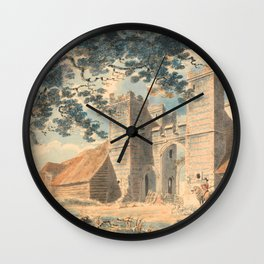 "J.M.W. Turner ""Dent de Lion, Margate"" Wall Clock"