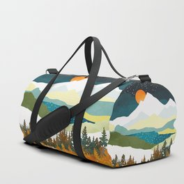 Winters Night Duffle Bag