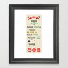 Are you a hipster? Framed Art Print