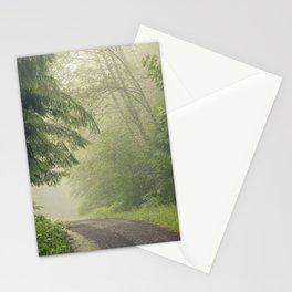 Foggy Street Stationery Cards