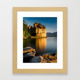 Chillon Castle 2 Framed Art Print