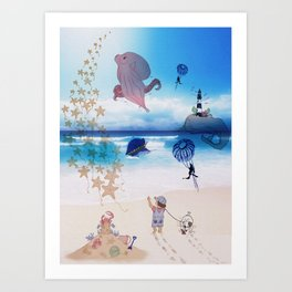 Out of Imagination Art Print