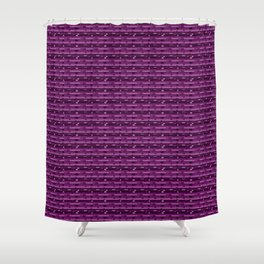 Bold lines and Squares Shower Curtain