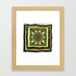 Rustica Mandala (8) B Framed Art Print