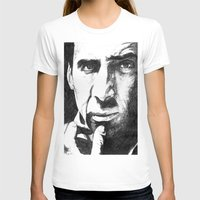 nicolas cage T-shirts featuring Nicolas Cage by DeMoose_Art