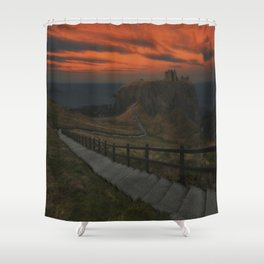 Dunnottar Castle Shower Curtain