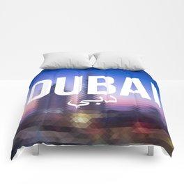 Dubai - Cityscape Comforters